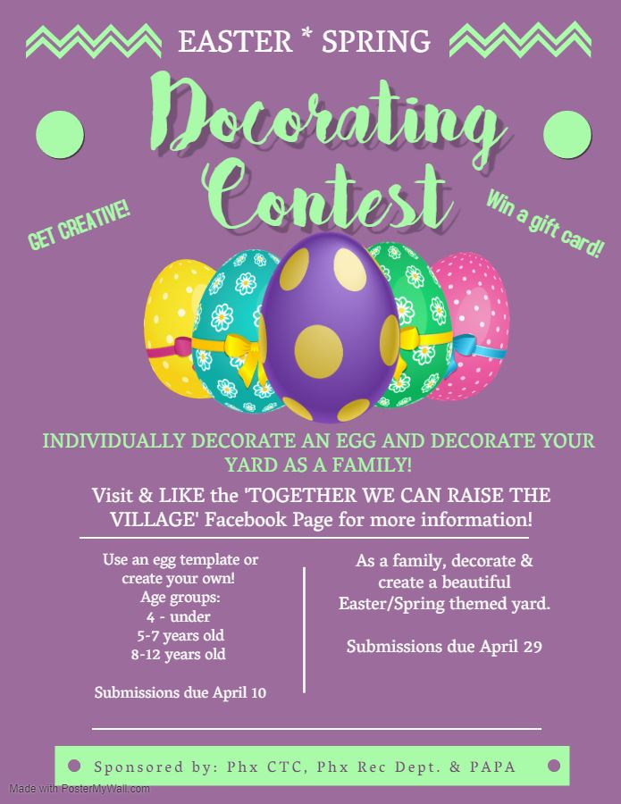 Easter Egg and Yard Decorating Contest