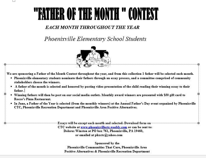 Father of Month Esaay Contest (002)