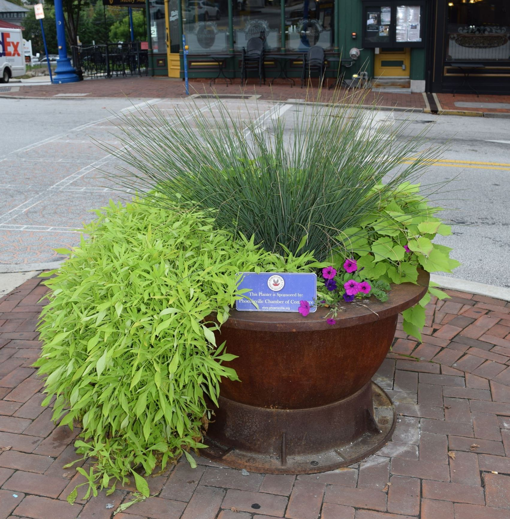 Phoenixville Regional Chamber of Commerce Planter