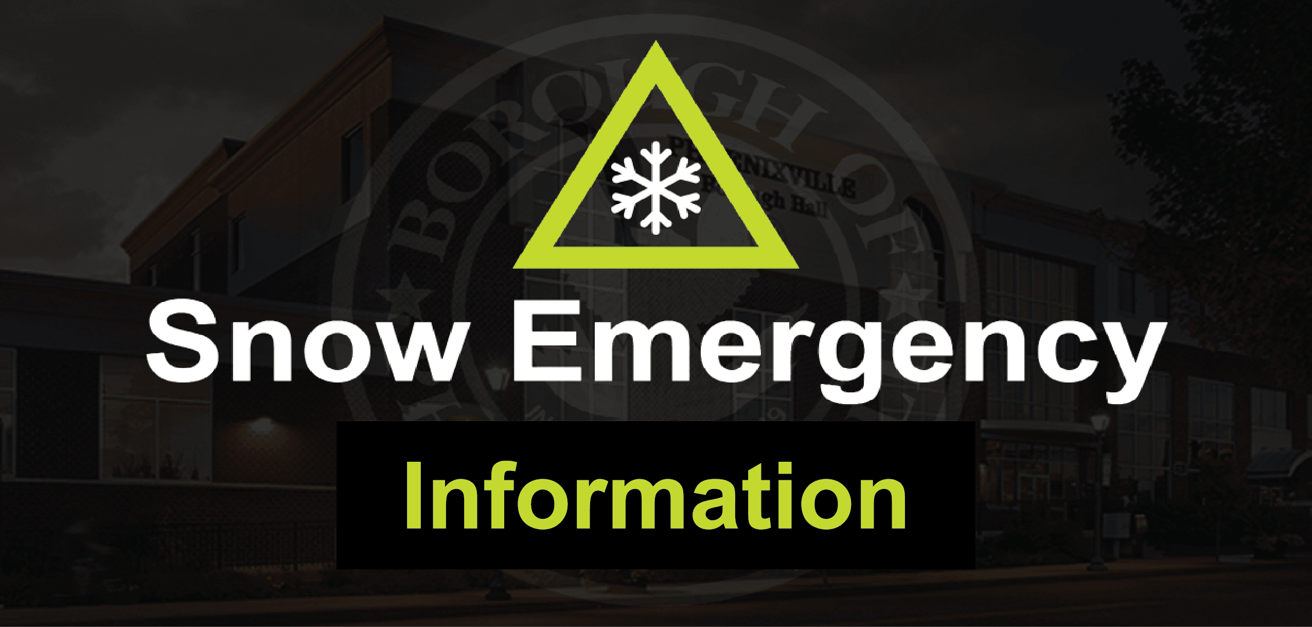 Snow Emergency Spotlight