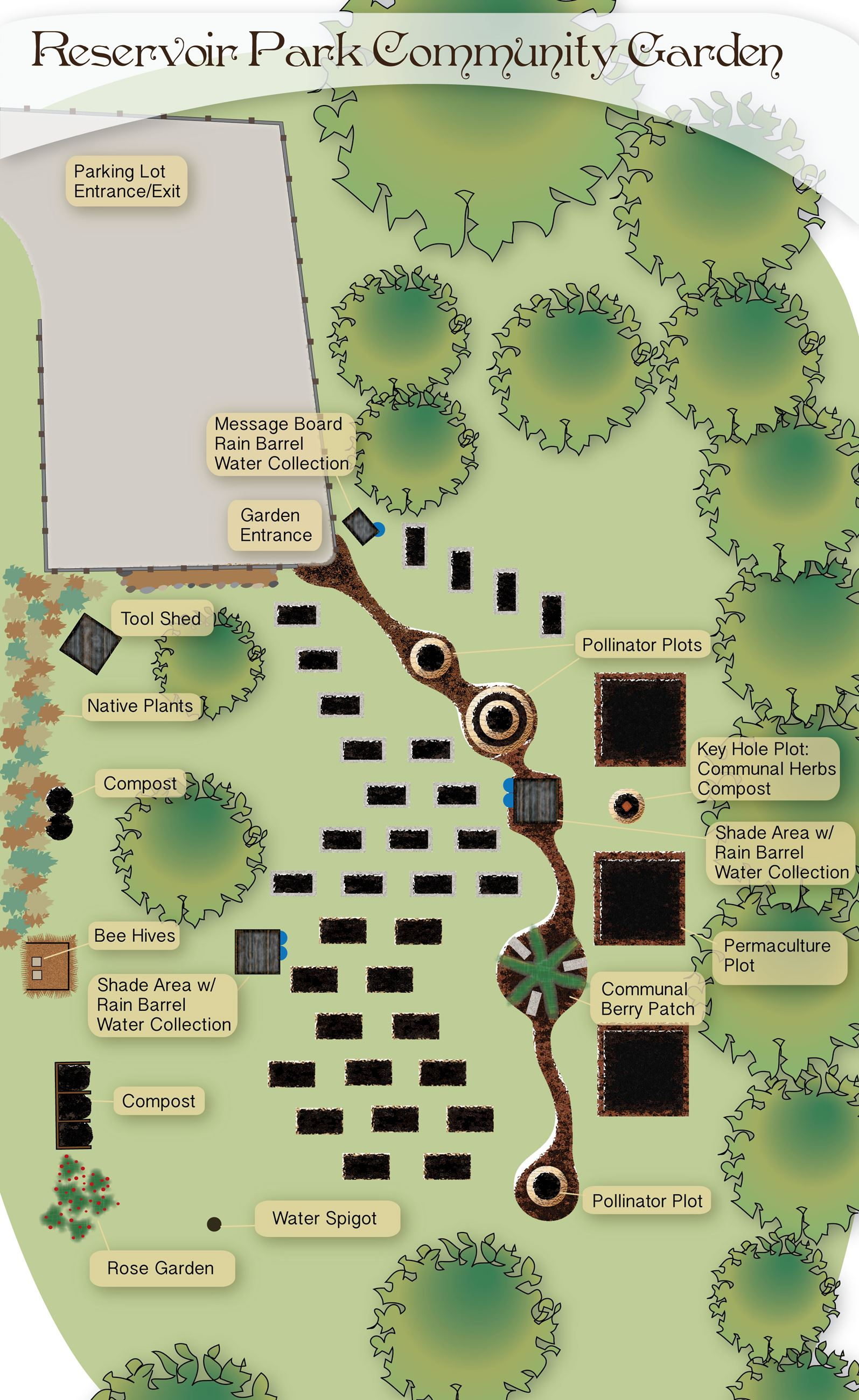 Community Garden Diagram (JPG) Opens in new window