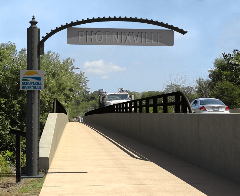 Trail on Bridge_Phoenixville